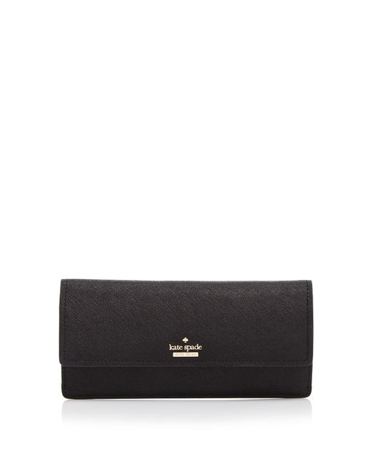 Kate Spade | Black Cameron Street Alli Saffiano Leather Wallet | Lyst