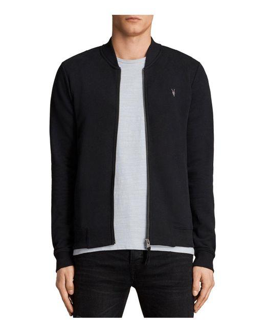 AllSaints | Black Bomber Jacket for Men | Lyst