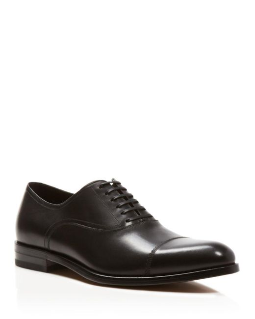 Ferragamo - Black Guru Oxfords for Men - Lyst