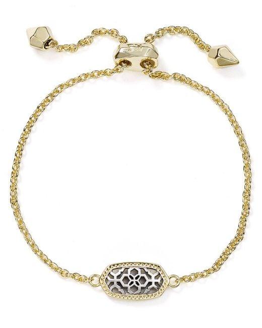 Kendra Scott - Metallic Elaina Filigree Bracelet - Lyst