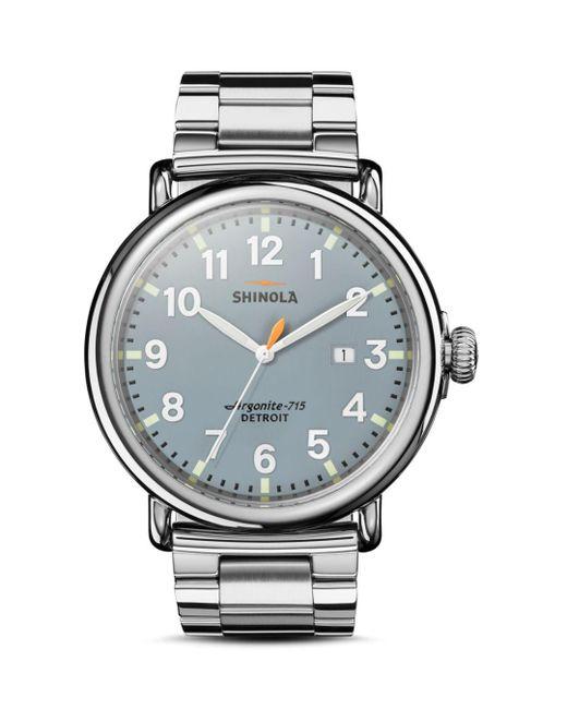 Shinola - Metallic The Runwell 3hd Watch for Men - Lyst