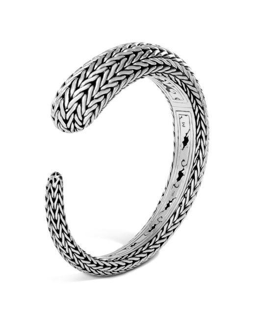 John Hardy - Metallic Sterling Silver Classic Chain Small Kick Cuff - Lyst