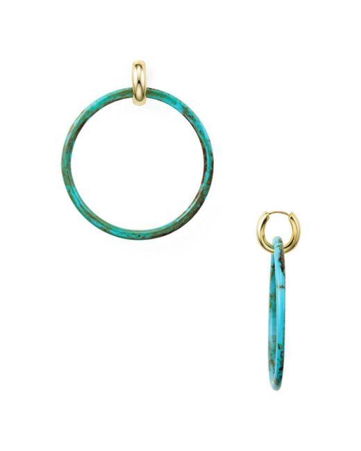 Argento Vivo - Multicolor Hoop Earrings - Lyst