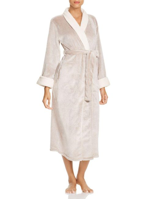 Natori - Purple Sherpa Robe - Lyst