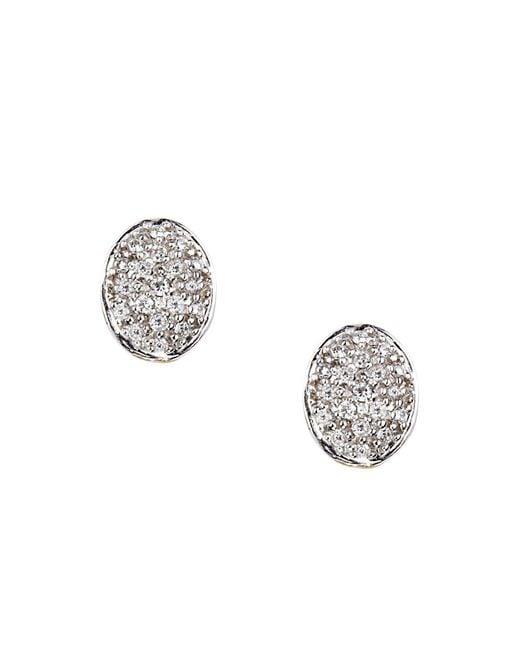 Marco Bicego | White Siviglia Diamond Stud Earrings | Lyst
