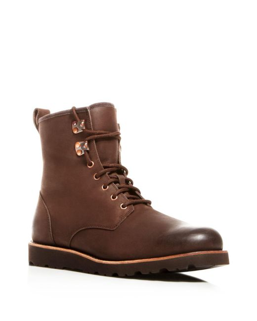 Ugg | Brown Hannen Tl Waterproof Boots | Lyst