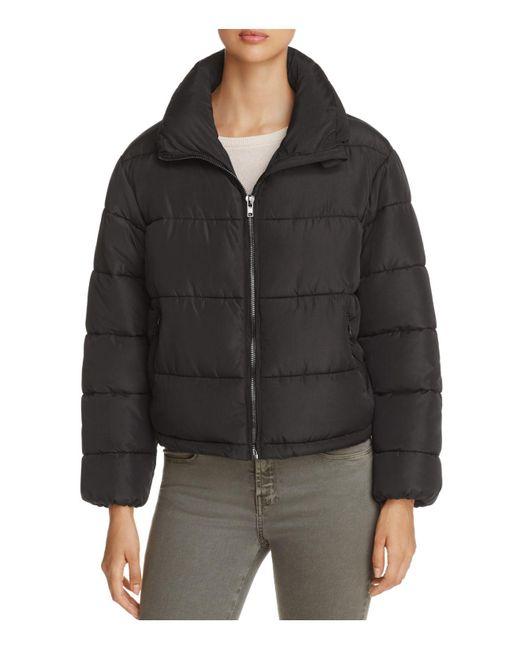 Glamorous   Black Puffer Jacket   Lyst