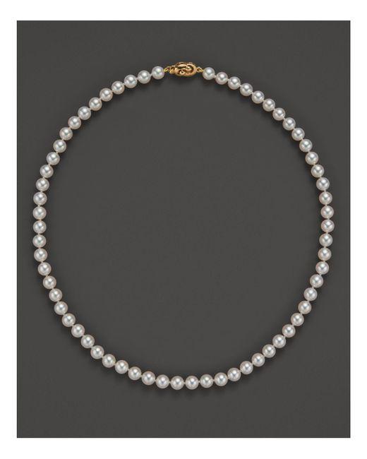 Tara Pearls - Metallic 16'' - Lyst