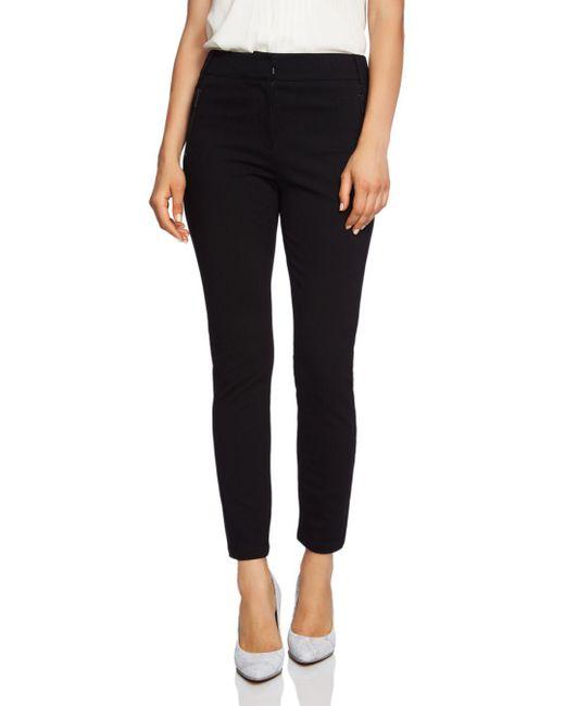 1.STATE - Black Ponte Skinny Pants - Lyst