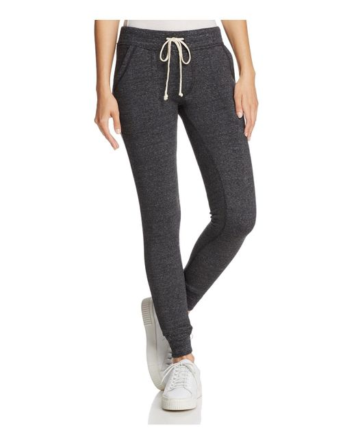 Alternative Apparel - Black Slim Jogger Pants - Lyst