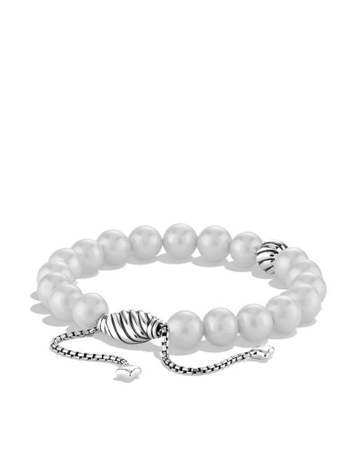 David Yurman | Metallic Spiritual Beads Bracelet With Pearls | Lyst