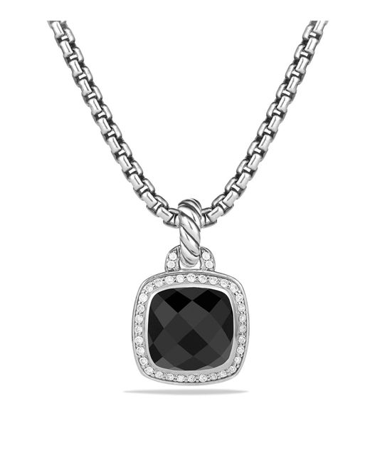 David Yurman | Albion Pendant With Black Onyx And Diamonds | Lyst