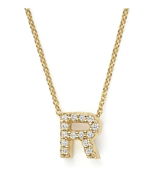 """Roberto Coin - 18k White Gold Bollicine Necklace, 37"""" - Lyst"""