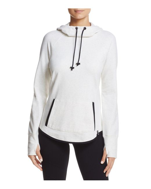Marc New York | White Andrew Marc Performance Heathered Pullover Hoodie | Lyst