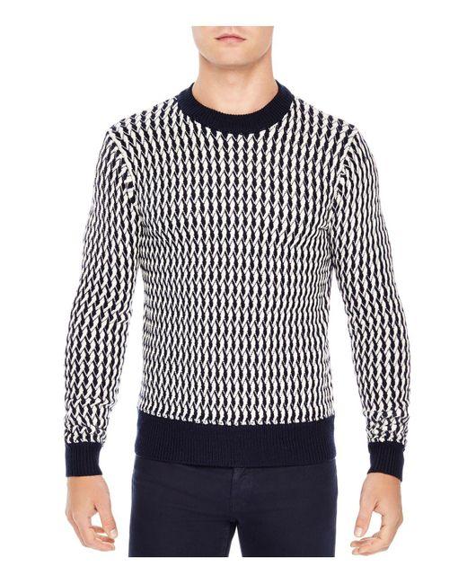 Sandro | White Glasgow Sweater for Men | Lyst