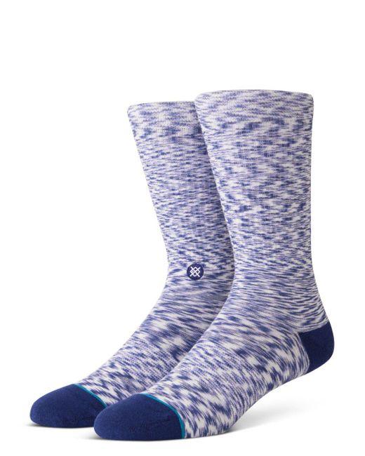 Stance - Blue Marne Variegated Socks for Men - Lyst