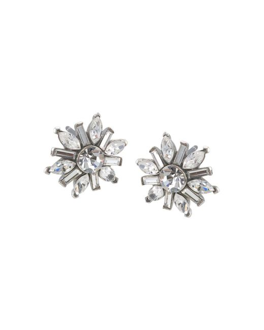 Carolee - Metallic Small Cluster Earrings - Lyst