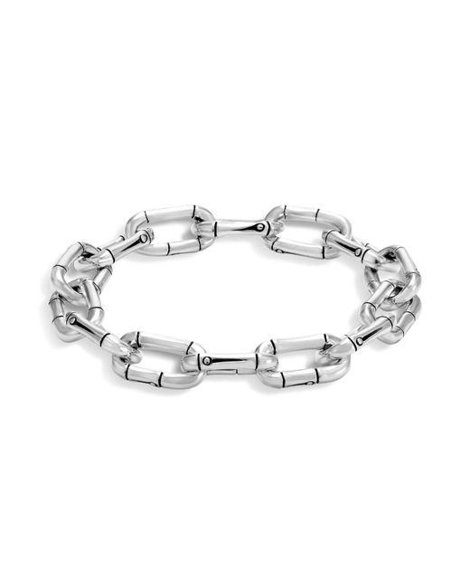 John Hardy | Metallic Sterling Silver Bamboo Link Bracelet | Lyst