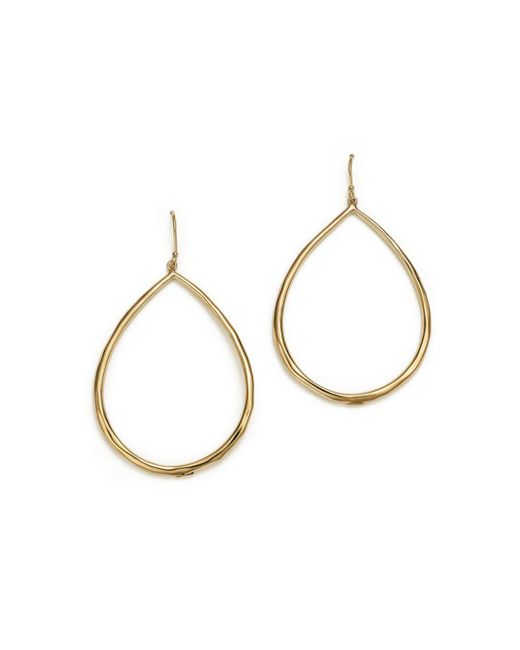 Ippolita - Metallic 18k Yellow Gold Glamazon Faceted Large Teardrop Earrings - Lyst