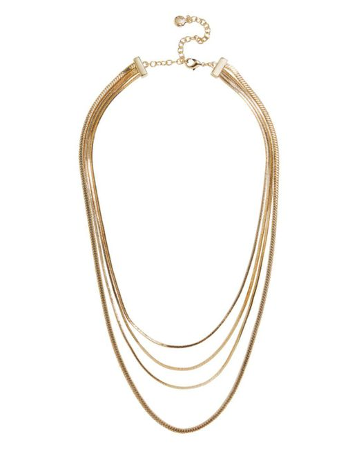 BaubleBar - Metallic Divanshi Necklace - Lyst