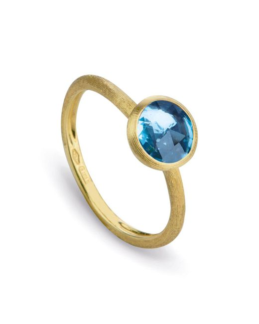 Marco Bicego | Blue Topaz Stackable Jaipur Ring | Lyst