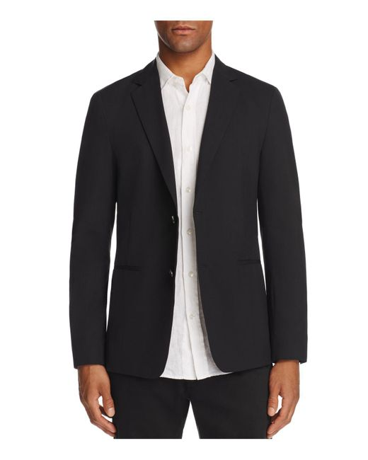 Theory | Black Semi-tech Slim Fit Blazer for Men | Lyst