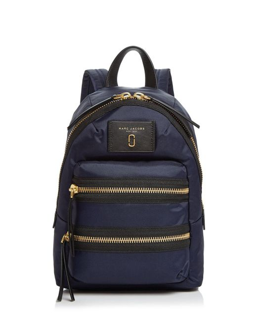 Marc Jacobs - Blue Nylon Biker Mini Backpack - Lyst