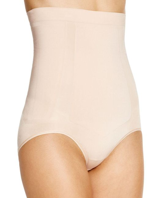 Spanx - Natural Oncore High-waisted Briefs - Lyst