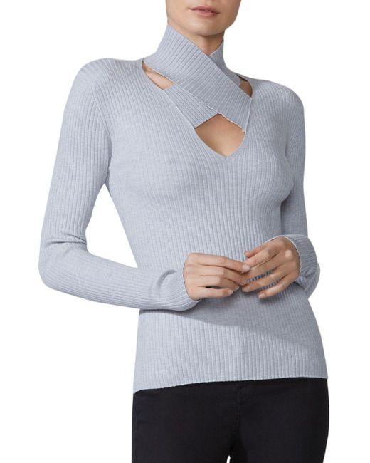 Bailey 44 - Multicolor All In Crisscross Rib-knit Sweater - Lyst