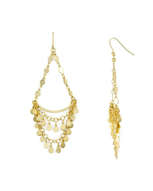 Argento Vivo | Metallic Carmen Chandelier Earrings | Lyst
