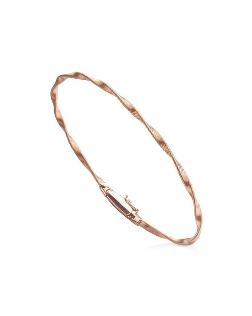 Marco Bicego - Multicolor Marrakech Bracelet In 18k Rose Gold - Lyst
