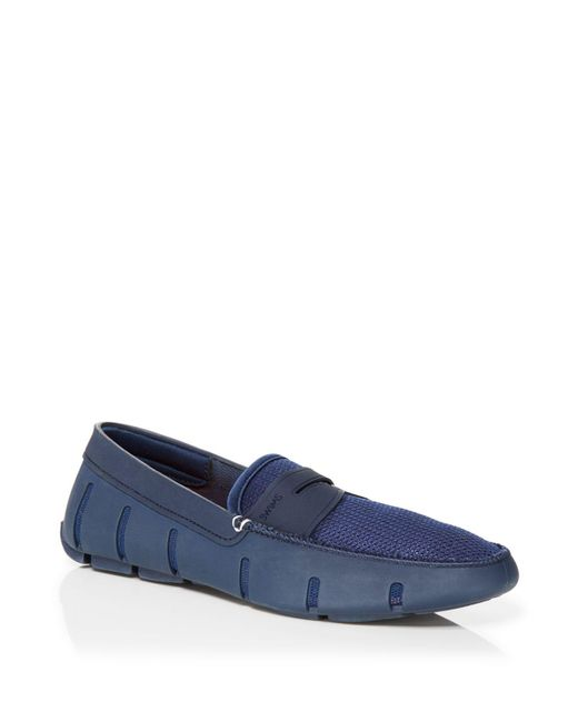 Swims - Blue Penny Loafers for Men - Lyst