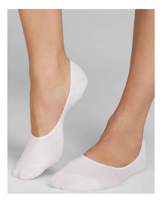 Hue | White ® Opaque Tights | Lyst