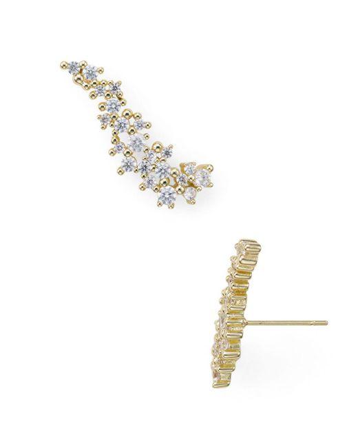 Kendra Scott - Metallic Petunia Climber Earrings - Lyst