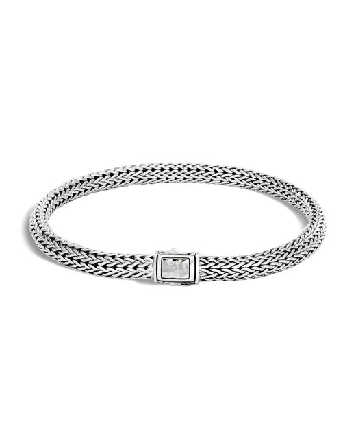 John Hardy | Metallic Sterling Silver Classic Chain Extra Small Chain Bracelet | Lyst