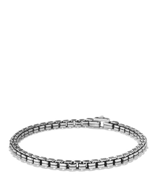 David Yurman - Metallic Double Box Chain Bracelet for Men - Lyst