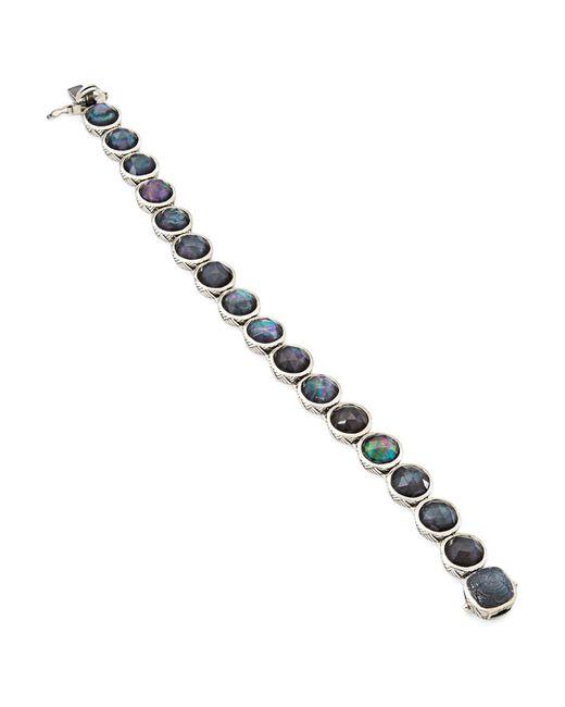 Stephen Dweck | Blue Etched Line Bracelet | Lyst