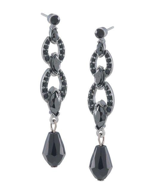 Carolee - Multicolor Pavé Linear Drop Earrings - Lyst