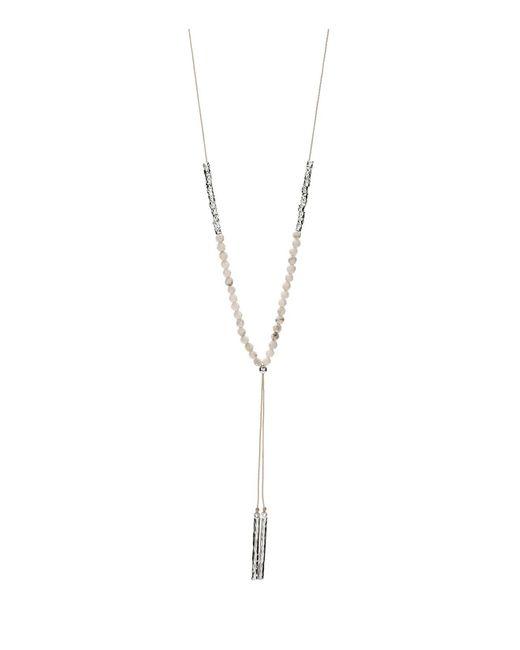 Gorjana | Metallic Power Calming Gemstone Necklace | Lyst