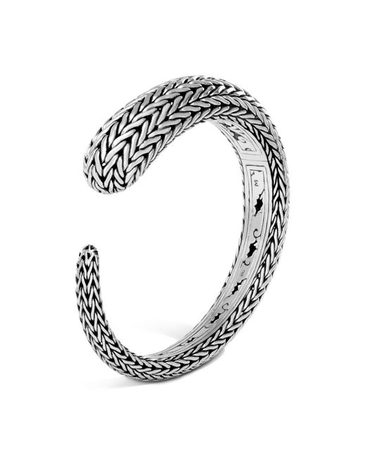 John Hardy | Metallic Sterling Silver Classic Chain Small Kick Cuff | Lyst