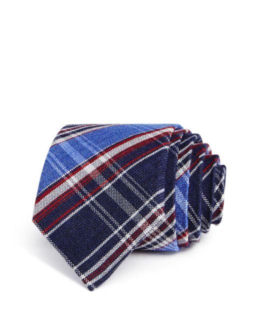 Alexander Olch - Blue Multi Plaid Classic Tie for Men - Lyst