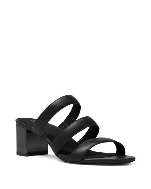 MICHAEL Michael Kors - Black Women's Paloma Flex Slide Sandals - Lyst