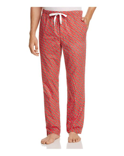 Lyst Vineyard Vines Holiday Lights Lounge Trousers In