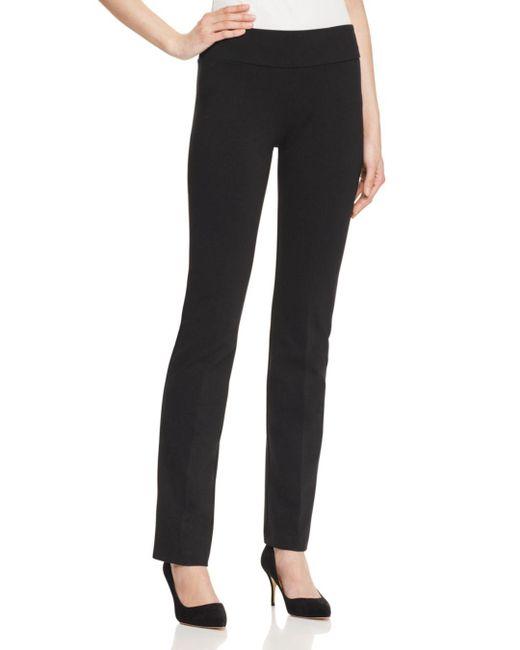 Karen Kane - Black Structured Knit Pants - Lyst
