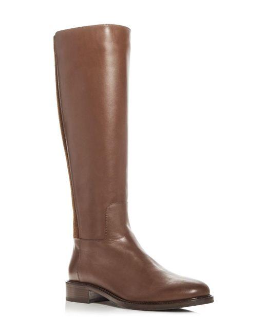 Aquatalia   Brown Women's Bryana Weatherproof Leather Tall Boots   Lyst