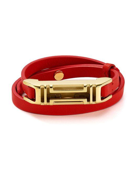 Tory Burch   Red Fitbit Bracelet   Lyst