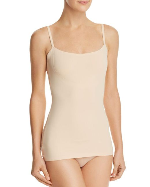 Item M6 - Natural Strappy Cut & Bonded Shape Tank - Lyst