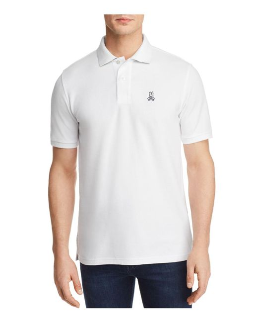 Psycho Bunny - White Neon Anniversary Polo Shirt for Men - Lyst
