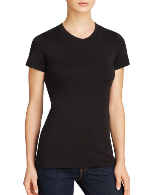 Theory - Black Tee - Johnna - Lyst