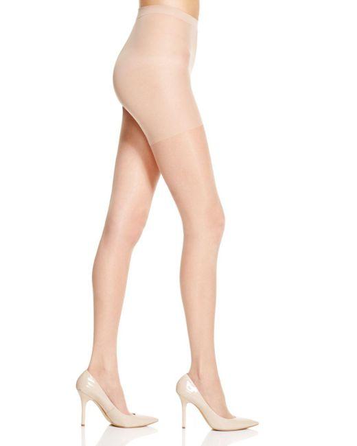 Hue - Natural So Silky Sheer Tights - Lyst
